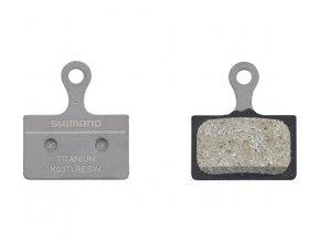 brzdové destičky Shimano XTR K03Ti polymerové original balení