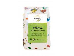 Mouka rýžová celozrnná  PROBIO 300g