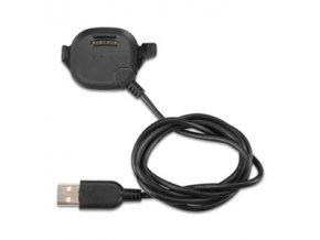 Kabel datový a napájecí USB s kolébkou pro Forerunner 10/15 black (velikost XL)