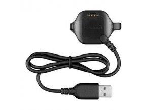 Kabel napájecí a datový USB s kolébkou pro Forerunner 25 (velikost S)