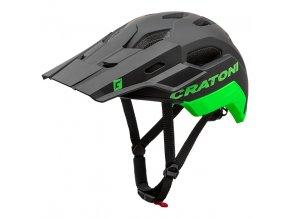 CRATONI C-MANIAC 2.0 TRAIL - black-neongreen matt 2020