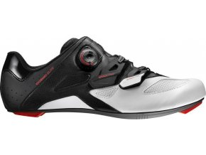 18 MAVIC COSMIC ELITE TRETRY BLACK/WHITE/FIERY RED 391340