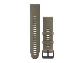 Řemínek pro fenix5 - QuickFit 22, šedozelená