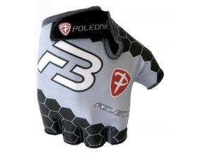 rukavice pánské Poledník F3 NEW černo-šedé