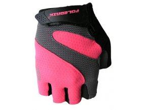 rukavice Poledník IRIS růžové