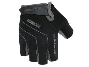 rukavice Poledník LINES SH černo-šedé