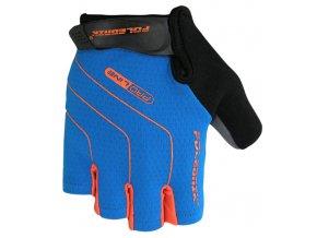 rukavice Poledník LINES SH modro-oranžové