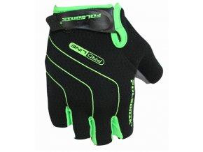 rukavice Poledník LINES SH černo-zelené