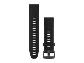 Řemínek pro fenix5S Plus - QuickFit 20, černý