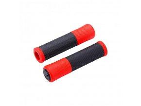 gripy BBB Viper 130mm černo/červené
