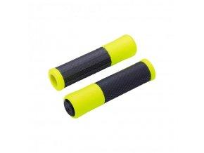gripy BBB Viper 130mm černo/fluoritové