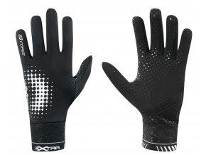 rukavice FORCE EXTRA, jaro-podzim, černé