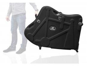 kufr FORCE pro přepravu kola, černý
