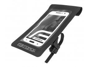 obal na mobil na řidítka F DIVE vodotěsný, černý