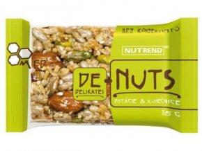 tyčinka Nutrend DeNuts pistácie+slunečnice 35g