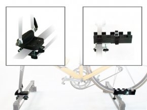 nosič střešní ROLLE za přední vidlici Fe/plast,črn