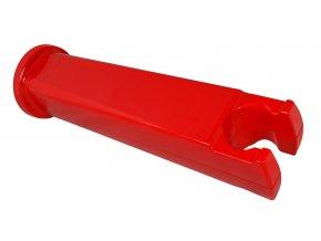 držák kola na stěnu COOL BIKE RACK plast., červený