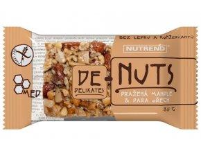 tyčinka Nutrend DeNuts mandle+para ořech 35g
