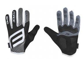 rukavice F MTB SPID letní bez zapínání, černé