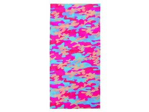 šátek M-WAVE Pink-Blue seamless