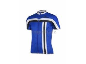 dres krátký pánský Rogelli BRESCIA modrý