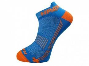 ponožky HAVEN SNAKE SILVER NEO 2páry modro/oranžové