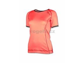 triko krátké dámské Rogelli MARCELLA oranžové