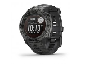 Garmin Instinct Solar Camo Black Optic