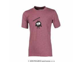 triko krátké dětské Progress BAMBINO KID růžové