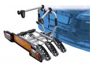 nosič SIENA na tažné zařízení pro 3 kola Fe, stř
