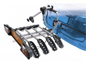 nosič SIENA na tažné zařízení pro 4 kola Fe, stř