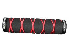 madla FORCE MOLY pěnová,jištěná, černo-červená,bal