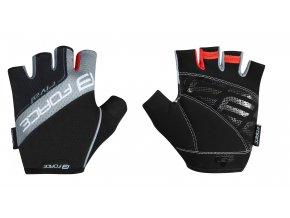 rukavice FORCE RIVAL, černo-šedé