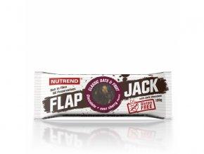 tyčinka Nutrend FLAPJACK GLUTEN FREE čokoláda+višeň