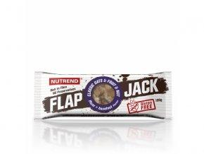 tyčinka Nutrend FLAPJACK GLUTEN FREE švestka+lískový ořech