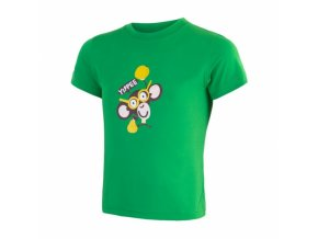 triko krátké dětské SENSOR COOLMAX FRESH PT CHIMPANZEE zelené