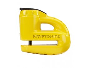 KRYPTONITE Keeper  5-S2 Disc lock - Matte Yellow w/Reminder cable