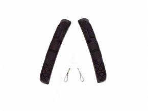 gumičky špalíků 4RACE MTB 72mm černé