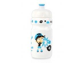 lahev ZEFAL dětská LITTLE Z+držák Boy bílá