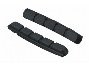 špalíky-gumičky BBB VeeStop 72mm šedé