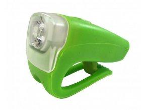 osvětlení přední 4RACE LF04 3+0,5W LED zelené