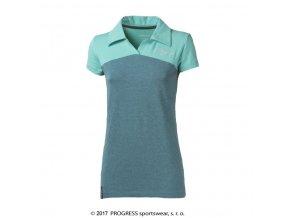 triko krátké dámské Progress YUKI sv.zelené