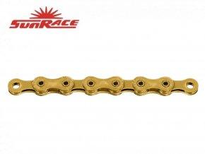 řetěz SunRace CN12H 12k 126čl. zlatý