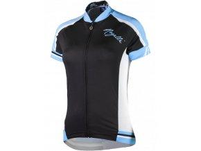 dres krátký dámský Rogelli SALISA černo/modrý