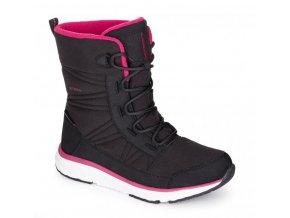boty dámské LOAP ESENA zimní černo/růžové