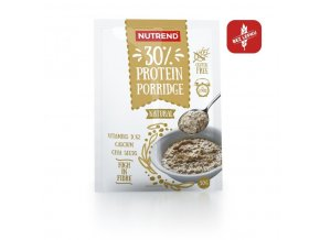 kaše Nutrend Protein Porridge 5x50g natural