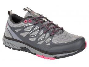 boty dámské LOAP TANNA W šedo/růžové