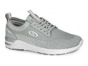 boty dámské LOAP EOLINA šedo/bílé
