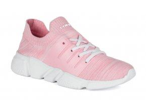 boty dámské LOAP NOSCA růžovo/bílá