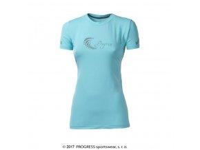triko krátké dámské Progress PANTERA sv.modré